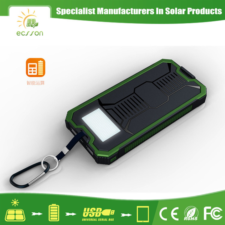 2017 Ecsson S8000 mobile solar charger