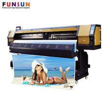 New arrival Funsunjet FS3202G 3.2m/10ft water transfer film inkjet printer with 2 dx5 head fast printing speed 1440dpi