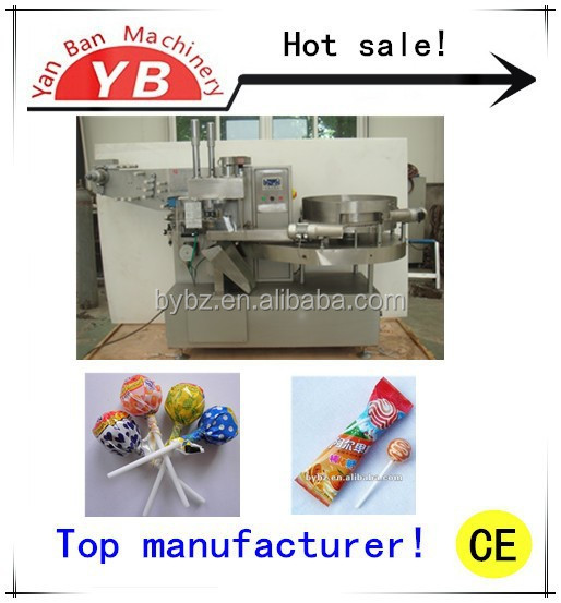 Shanghai Factory price High Speed Automatic Horizontal Lollipop Wrapping Machine