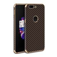 Multi Colors Are Available Plating TPU Phone Case, for Oneplus 5 Case