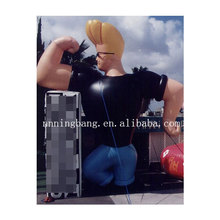 decoration giant pvc inflatable muscle man for sale