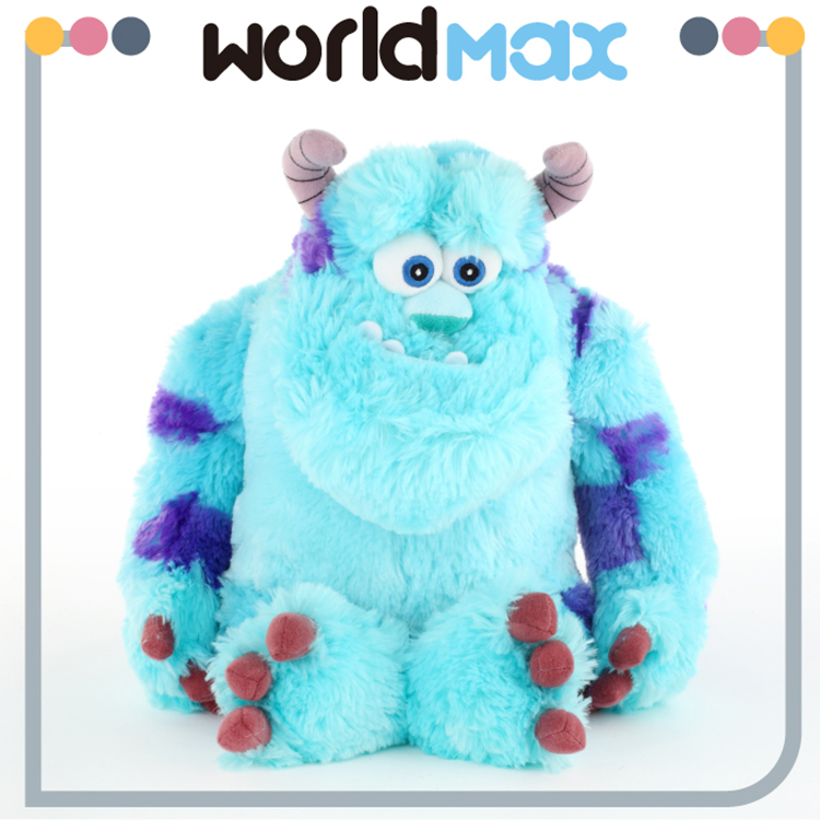 High Quality Cute Blue Monster Soft Cartoon Toy Doll