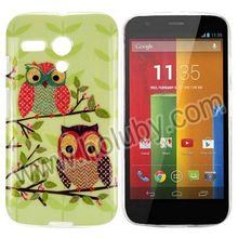 2014 Wholesale Price Soft TPU Cell Phone Custom Cover Case for Moto G Motorola XT1032 XT1031