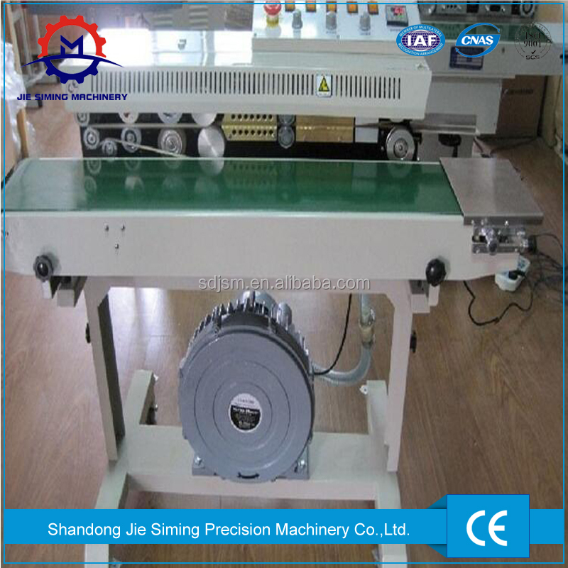 Automatic Plastic Bag Sealing Machine With Nitrogen Filling