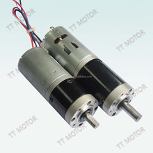 dc geared planetary 56mm 12 volt motor with gearbox