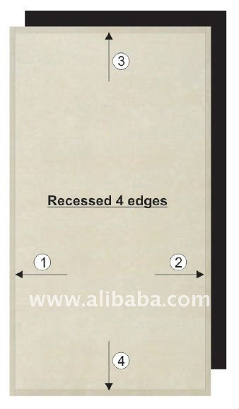 100% non-asbestos Cellulose Fibre Cement Board / Flat Sheet