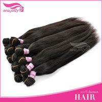 100% human hair extension,pony tail hair