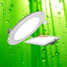 UL round led panel light 6w flat recessed led panel light 6w ultra slim led panel light 6w