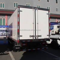 High quality 4x2 FOTON cooling van trucks for sale refrigerator box truck