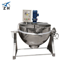 high quality food grade SS304 Or SS316 Tilting Electric Gas Steam Vertical Cooking equipment