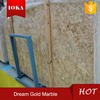 Gold Color Marble Big Slabs With Beautiful Veins