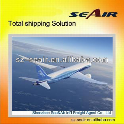 Shenzhen air freight rates to AOL, Paso de los Libres by air shipping