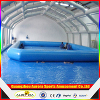 Largest inflatable swimming pool, round inflatable water pool/inflatable square swimming pool
