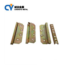 China Supplier Bed Connection Accessories Metal Bed Frame Bracket Hinge