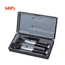 Medical diagnostic kit ear speculum otoscope and ophthalmoscope set