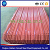 Prepainted Color Coated Corrugated Steel Roofing Sheets