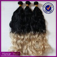 Never missed!!Soft&beauty all style ombre peruvian virgin hair weave