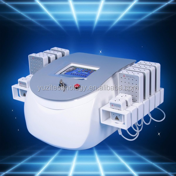 Medical CE approved Lipo laser + Fractional RF facial lifting beauty equipment