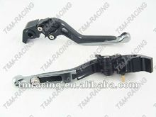 Clutch and brake lever for Motorcycle adjustable