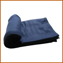 Chinese 100 Polyester Cheap Plain Travel Airline Blanket