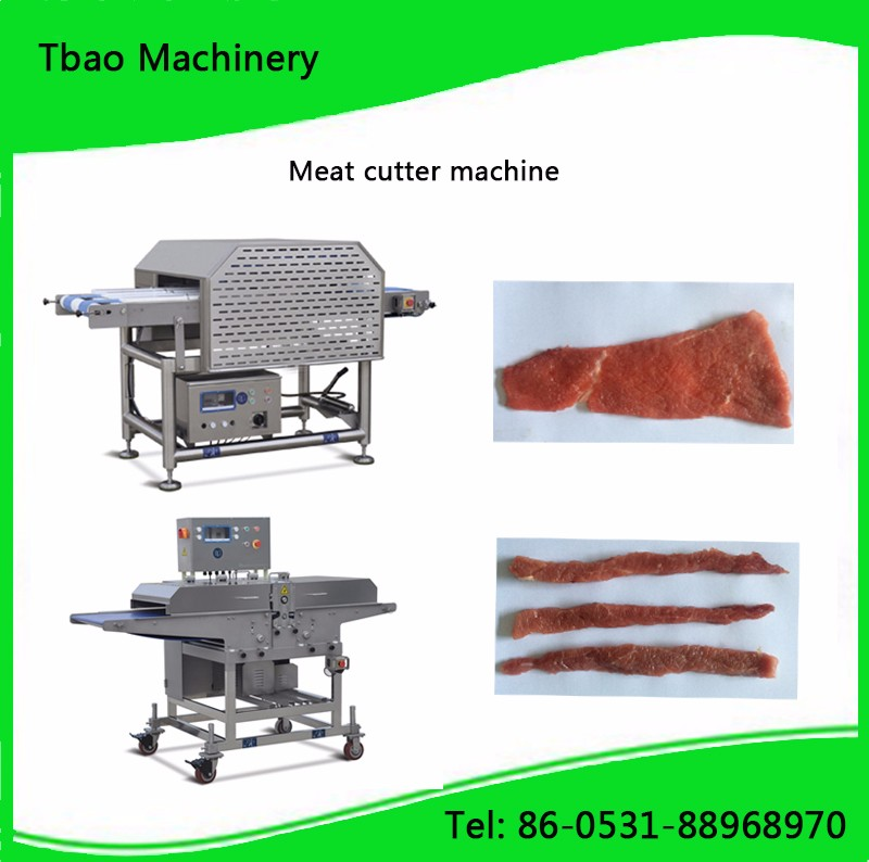 automatic goat meat mutton cutting machine factory made