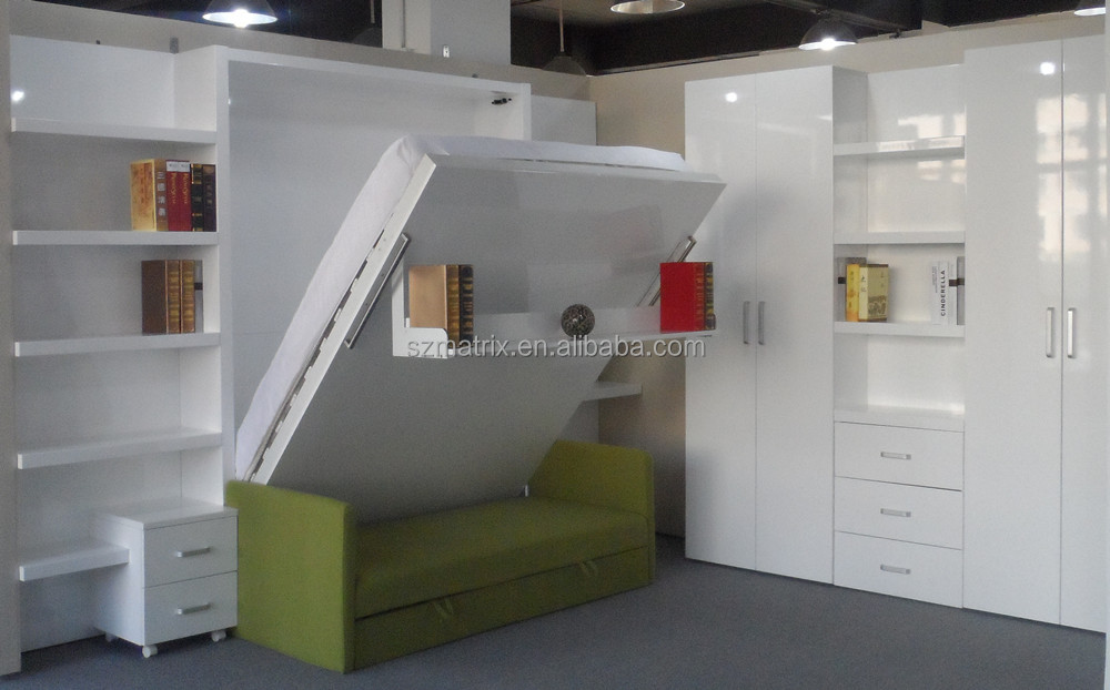 Space Saving Furniture Space Saving Wall Bed With Sofa