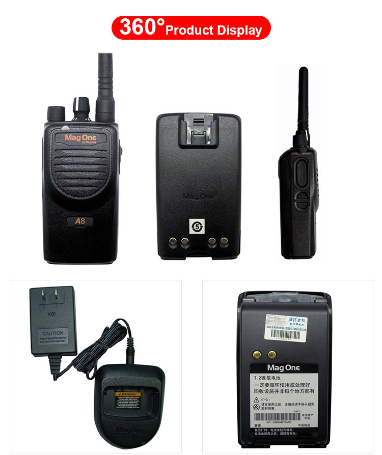 Hotsale handheld Magone A8 wireless walkie talkie