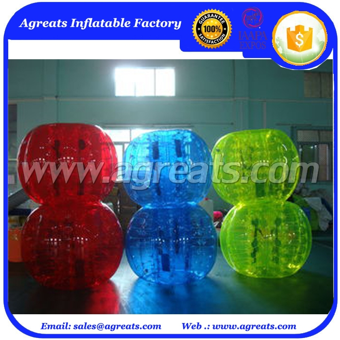 inflatable knock balls inflatable bubble soccer suits with low price GB7035