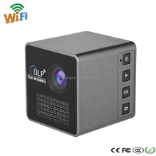 New Arrival!!!!UNIC Battery Powered 1080P DLP Mini Holographic Smart Cube P1 LED Projector