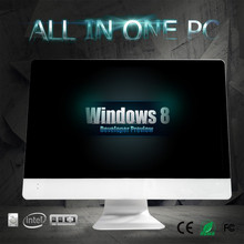 Intel I3 I5 I7 dual qual core processor all in one 27 inch computer HD screen ALL IN ONE PC 1920*1080P for gaming and office