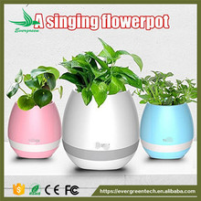Evergreentech Wholesale Pa system speaker flowerpot speaker portable bluetooth speaker