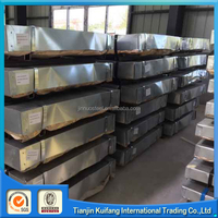 MS galvanized plates 8ft x 4ft grade ASTM a 36. Or SJR 275