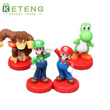 Custom beauty hot toys super mario delicate anime figure