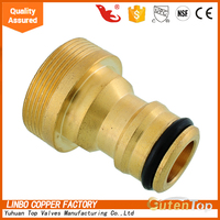 LB-GUTEN TOP Brass quick connect garden hose couplings ,Brass Quick-Disconnect Garden Hose Fittings