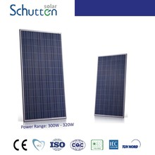 TOP 10 solar panel supplier in China! High efficiency! poly pv module 320w