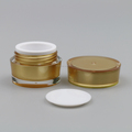 5g mini plastic double walls empty clear eye cream gel jars/containers/bottles