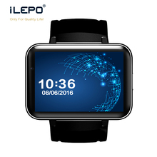 3G smart watch phone DM98 2.2inch capacitive touch display 130w camera Android 4.4 BT iLepo watch
