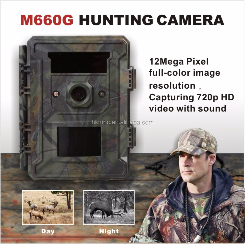 Bestok Night Vision Scope Time Lapse Rotating Wholesale Hunting and Fishing Supplier trail Camera