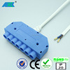 CE RoHs LED power supply 12V / 15 Watt treadle switch, transformer molex 6 way wire junction box distributor stecker