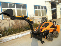 China hot advanced mini loader with backhoe bucket for sale