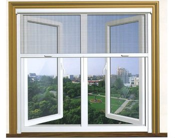 pvc casement windows with screen, View window with screen, MQ ...