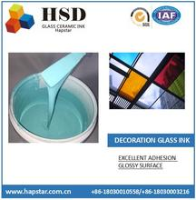 Decoration Color Glass Ceramic Ink for Architectural