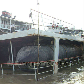 marine salvage rubber air bags