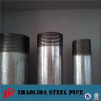 steel pipe 250mm ! astm a53 mild steel pipe galvanized steel pipe for solar hot water project