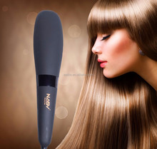 Private label brown gold japan brand names of flat iron infrared hair straightener