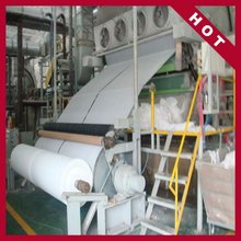 HOT SMALL PAPER PLANT 1092mm 1- 2 ton per day tissue paper machine,recycled paper making machine