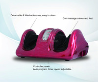 2016 Electric Shiatsu Roller vibrating Electric Foot Massager Machine
