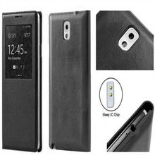 Window FLIP leather phone case mobile phone leather case for SAMSUNG GALAXY NOTE 3 N9000