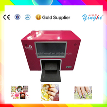 hot sale and low price digital nail printer for beauty salon with computer