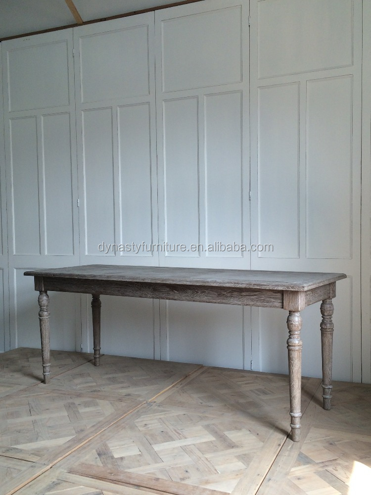 shabby chic french provincial furniture wood dining table